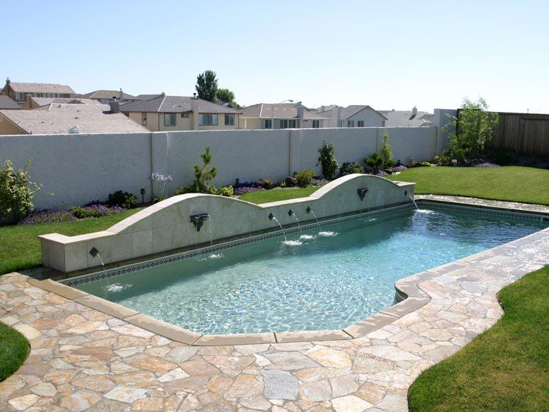 Latham pool gallery the pool guyz - Fibreglass swimming pool bond beam ...