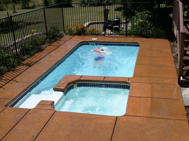rectangle pool models - the pool guyz