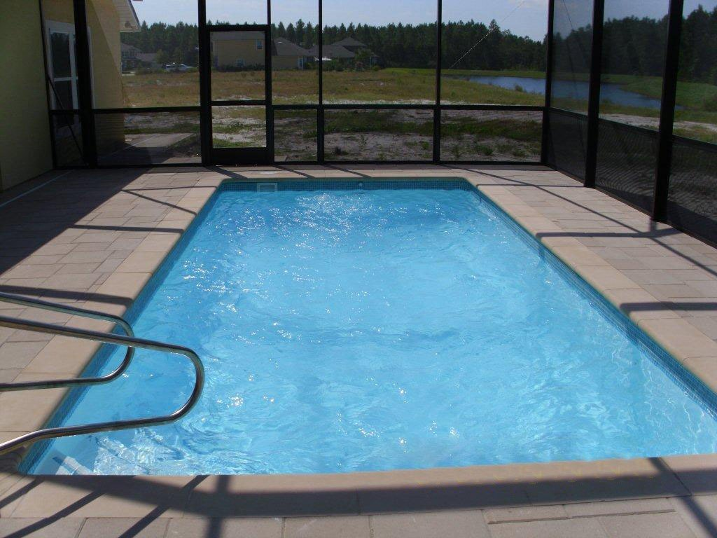 Rectangle pool models the pool guyz for Swimming pool layouts and designs