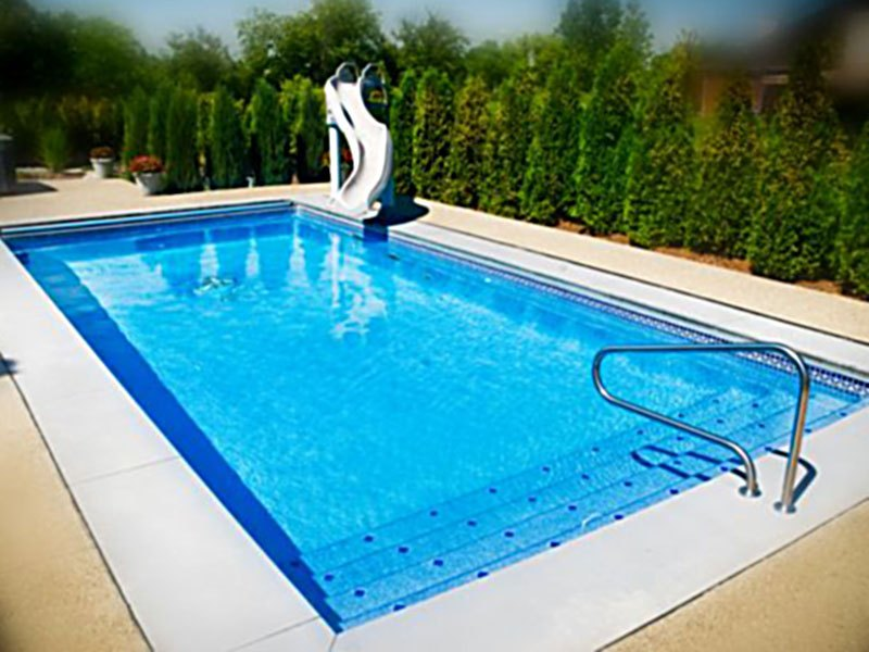 Rectangle pool models the pool guyz for Pool plans online